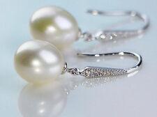 Genius freshwater pearl earring