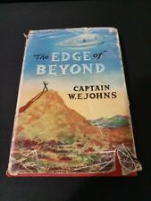 RARE - The Edge of Beyond by W.E. Johns (Hardcover, 1958) - First ed - DJ Sci Fi