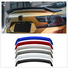Car Trunk Rear Wing Spoiler Lip ABS For 2018-2020 HONDA Accord 10th JDM V Type