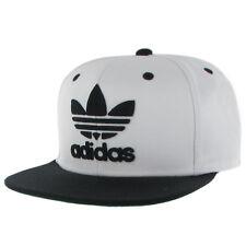 Adidas Thrasher Chain Snapback (White/Black) Hat
