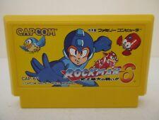 ROCKMAN 6 Megaman 6 - NINTENDO FAMICOM - Jeu NES NTSC Jap Loose