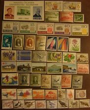 Iceland 52 Different Mint Never Hinged F-Vf Complete