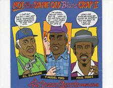 CDNOT THE SAME OLD BLUES CRAP iia fat pssum records comp.2001 EX (A0455)