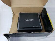 NEW KICKER 43CXA6001 Class D Monoblock Car Audio Power Amplifier 43CXA600.1
