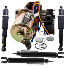 Fit Chevy GMC Cadillac SUV Yukon Air Suspension Shock & Compressor Complete Kit