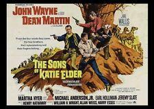 Die Söhne der katie elder john wayne Repro FILM Plakat