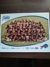 Buffalo Bills 2006-2007 Buffalo Jills 8.5 X 11 PHOTO. Buffalo Bills Cheerleaders