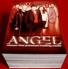 Joss Whedon's ANGEL - Season 5 - Complete Base Set (90 cards) - Inkworks - 2004