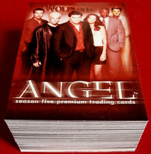 Joss Whedon's ANGEL - Season 5 - Complete Base Set (90 cards) - Inkworks 2004
