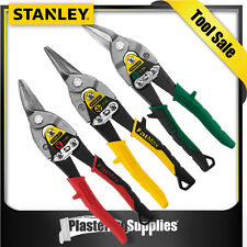 Stanley Aviation Tin Snips Set 3 Piece Left Right Straight Cuts 14-559