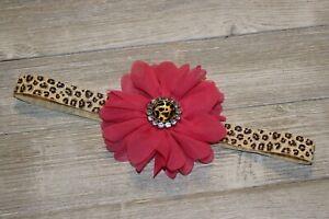 Hot Pink Cheetah headband
