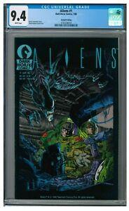Aliens #1 (1988) Dark Horse/ 1st Comic Appearance 2nd Print CGC 9.4 AA713