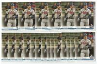 x20 FREDDIE FREEMAN 2019 Topps Update #279 Baseball Card lot/set Atlanta Braves!