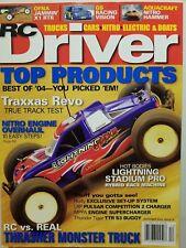 RC Driver Magazine- December 2004- Thunder Tiger TTR S3; Traxxas Revo