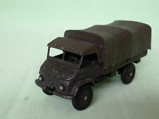 DINKY TOYS 821  MERCEDES BENZ UNIMOG  MILITARY TRUCK RARE VERY GOOD CONDITION