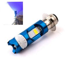P15D H6 Motorcycle LED Headlight Bulb 16W High / Low White Lamp w/ Blue Light 1x