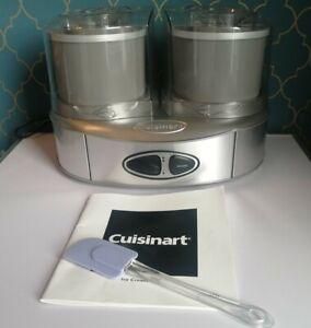 """Cuisinart """"Duo"""" ice-cream maker"""