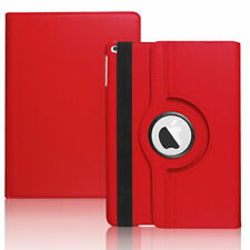For iPad 9.7 2018 6th 5th Generation 360° Rotating Stand Smart Leather Flip Case