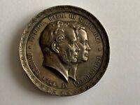 Medaille 1851 Friedr. Wilh. III gründete - Friedr. Wilh. IV vollendete, ansehen!