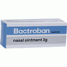 BACTROBAN nasal OINTMENT TUBE x 3G for staphylococcal bacteria