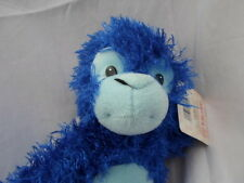 "Fiesta Busch Gardens Blue Hanging Monkey 18""  Plush Soft Toy Stuffed Animal"