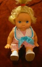 Vintage 1991 Hasbro Baby Wanna Walk Battery Operated  Doll Works