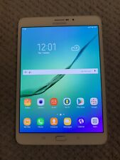 "Samsung Galaxy Tab S2 ASM-T719 - 32GB - 4G/Wifi (Locked On EE) 8"" - white - Used"