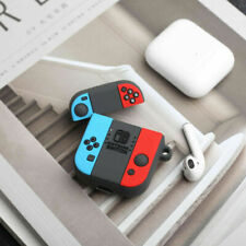 For Airpods Charging Case 3D Switch Gamepad Earphone protective bag Cover