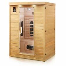 Infrarotkabine Infrarotsauna Wärmekabine Sauna Saunakabine 2 Personen Keramik