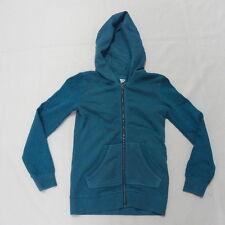 Roxy Girls Simply Turquoise Zip Front Hood Sz 10/M