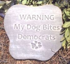 funny DOG Democrat stepping stone mould See Republican mold too in store