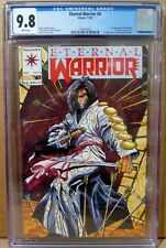 Eternal Warrior 4 CGC 9.8 KEY 1st BLOODSHOT NM/MT TOP GRADED Valiant 1568570021