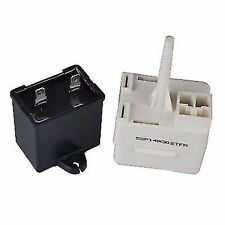 New listing New 8208368 Refrigerator Compressor Start Relay Overload & Capacitor Kit