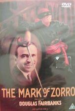 *NEW*  THE MARK OF ZORRO (DVD) .. FREE UK P+P ..................................