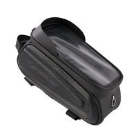WHEEL UP Touch Screen Bicycle Hard Shell Phone Bags MTB Bike Top Tube Pouch #JT1