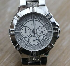 Guess Steel Chronograph Quartz W12080L1 Unsex Watch