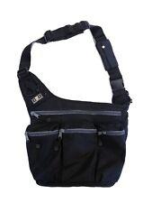 Original Diaper Dude Dad Daddy Ergonomic Cross Body Messenger Diaper Bag Black