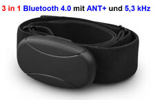 BRUSTGURT mit BLUETOOTH mit ANT+ und 5,3 kHz für RUNTASTIC Combo App, ANDROID