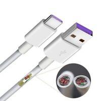 5A USB Typ-C Schnelllade datenkabel Ladekabel Für Huawei Mate 10 P20 P10 3ft