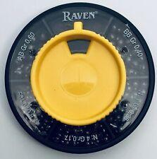 RAVEN 5 PART SPLIT SHOT DISPENSER / 5 DIFFERENT SIZES OF SPLIT SHOT **NEW**