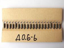 180uH 0.2A ex-USSR INDUCTOR AXIAL RF CHOKE QTY=20 NOS