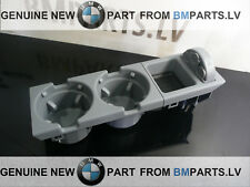 NEW GENUINE BMW E46 CUP HOLDER GRAY WITH COINBOX 51168248504 51168248505