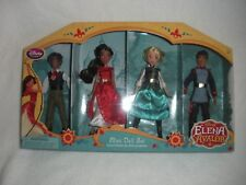 "DISNEY ELENA OF AVALOR 4 PIECE MINI DOLL PLAYSET POSEABLE 5 1/2"" NEW SEALED"
