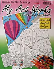 My Art FUNCIONA __ Nuevo Libro Para Colorear Para Adultos __ Tema 2 __ NUEVO
