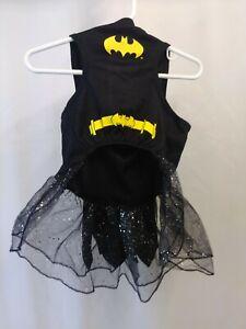 DC Comics Pet Halloween Costume Batman Girl Dog Costume Black Yellow Large