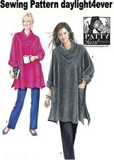 Women Loose-Fitting Tunic Top & Knit Pants Simplicity Sewing Pattern 2289 NEW #r