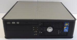 DELL OPTIPLEX 780 PC DESKTOP INTEL CORE 2 DUO 3.00GHZ RAM 2GB HDD160GB WIN 7 PRO