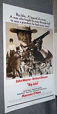 BIG JAKE original 1971 one sheet style B movie poster JOHN WAYNE/RICHARD BOONE