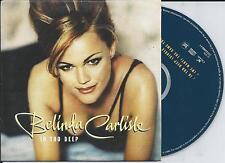 BELINDA CARLISLE - In too deep CD SINGLE 2TR EU CARDSLEEVE 1996