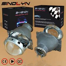 3.0 inch H7 HID Xenon Headlight Bi-Xenon Projector Lens Q5 Metal For Car Tuning
